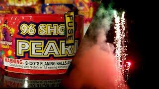 Phantom Fireworks 96 Shot Pearl Repeater & Slow Mo