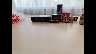 Распаковка пиротехники из магазина Большой Праздник