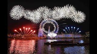 London New Year Fireworks 2019 |  Time Square New York Ball Drop  2019 | Countdown Celebrations