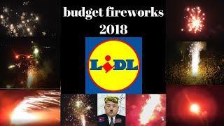 Lidl budget fireworks review 2018 (british fireworks)
