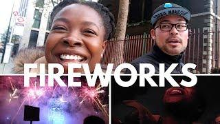 Our First Fireworks Night In London | Vlog #37
