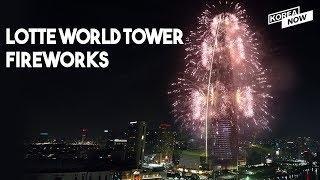 World's longest duration of fireworks | 2019 Lotte World Tower Fireworks Festival (full ver.)