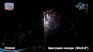 "Фейерверк Цветущая сакура (0,8""x36) РС6940 Русская пиротехника"