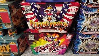 Fireworks Demo (500 Gram Cakes) Power Pack 5 Assortment (Pyro Planet) - *NEW ITEM FOR 2018*