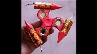 Rocket spinner | Fidget spinner with fireworks | #Shorts