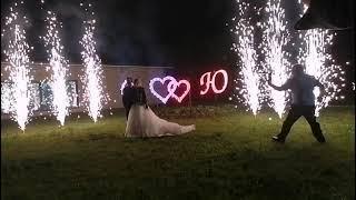 Пиротехника на свадьбу