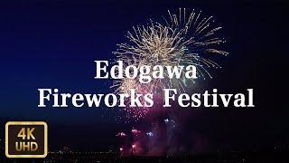 DJI Osmo Pocket -江戸川区花火大会 Edogawa Fireworks Festival【4K】【August 2019】