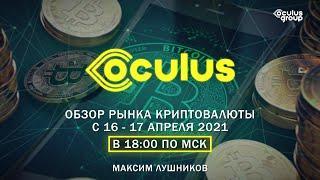 Стрим | Обзор рынка Криптовалюты с 16 – 17 апреля 2021г. | Максим Лушников
