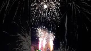 Fireworks of Gaecheon arts festival
