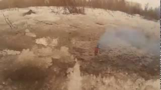 ПТ204004 Дымовуха петарды 12 штук в упаковке цветной дым, свист и громкий хлопок