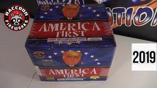 AMERICA FIRST - RACCOON FIREWORKS