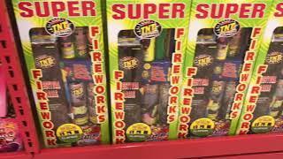 TNT Fireworks store tour