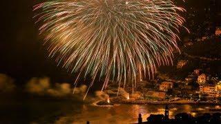 Recco 2019 fuochi d'artificio / L'Artificiosa / Di Candia / Quartiere Ponte / fireworks / feuerwerk
