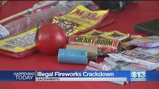 New Ordinance Considered To Crack Down On Illegal Fireworks In Sacramento