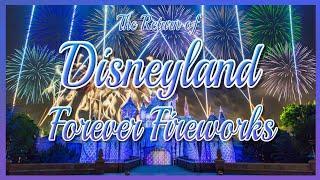 Disneyland Forever Fireworks Is Back! #disneyland #disneylandforever