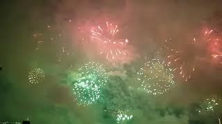 Saudi Arabia National Day 2018 Fireworks Abu Dhabi