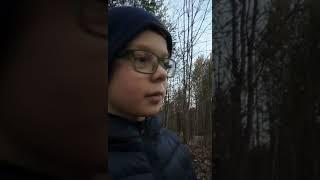 Взрываем мощные петарды в лесу(5)