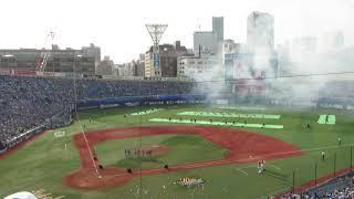 横浜ガールズフェスティバル2019 試合後のイベント「GIRLS☆FESTIVAL FIREWORKS SHOW featuring Happiness」の様子(2019.6.1)