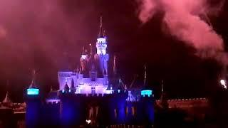 "Hong Kong Disneyland Fireworks  ""Disney in the Stars"""