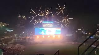 Rock 'n' Blast post-game fireworks show at Jacobs Field (Cleveland Indians), August 6th 2021