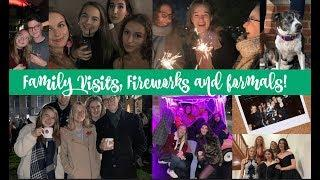 MY DOG CAME TO VISIT, FIREWORKS AND LOTS MORE WHOLESOME CONTENT | Oxford University Vlog #5