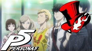 Gamers react to the Fireworks Festival Cutscene | Persona 5