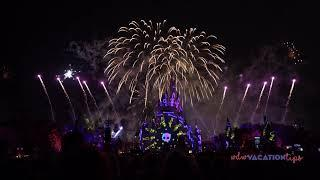 2019 New Disney's Not So Spooky Spectacular Fireworks Show