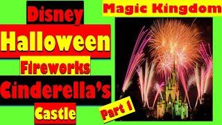 Disney | Halloween Fireworks | Magic Kingdom | #Shorts