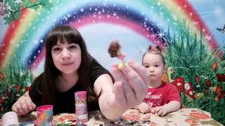 Распаковка Party POP THE GIRLS | Хлопушки сюрприз с куколкой внутри | Мини-куклы поп-вечеринка