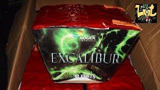 Excalibur 30 Shots Waaier Vuurwerk Cake Salon Roger Fireworks Maaseik