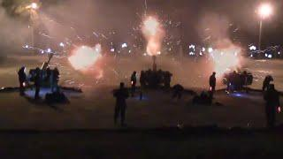 Donetsk Victory Day Fireworks Display 2019