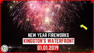 Fireworks on Kingston's Waterfront (January 1, 2019)