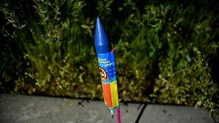 Пиротехнические ракеты Ассорти (Русский Фейерверк)| Первый запуск