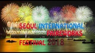 Seoul International Fireworks Festival 2018 south korea