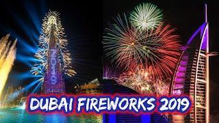 Dubai Fireworks 2019 | Burj Khalifa | Burj Al Arab |