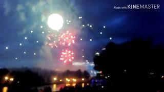Взрыв во время салюта в Минске 3 июля. Салют в Минске с трагедии начался... 2019