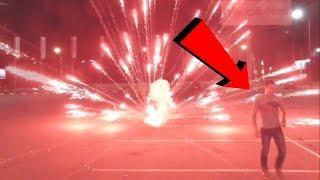 ВЗРЫВАЕМ ПЕТАРДЫ | Тест взрыв мощный салют на парковке | Моя пиротехника
