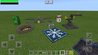 Fortnite in Minecraft PE Update (Vending Machines, Airplanes, Boombox, Snowman, Fireworks And MORE