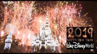 New Years Eve Fireworks Walt Disney World 2019 - Magic Kingdom Fantasy In The Sky Full Show