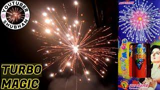 TURBO MAGIC from Supreme Fireworks - Diwali Sky Shot Cracker Testing 2020
