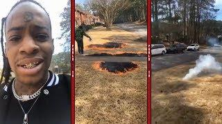 Thouxanban Fauni And Uno Almost Burns His House Down Playing With Fireworks!