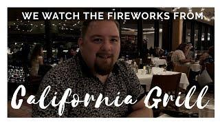 California Grill Review and Fireworks @ Walt Disney World