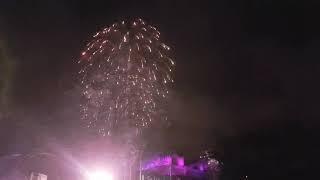 Edinburgh's Fireworks 2019-Hogmanay. Live New Year's Eve 2018. Scotland