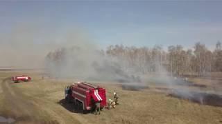Пожарно-тактические учения в районе Шал акына