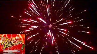 Legend Fireworks: Red Thunder 500g DEMO