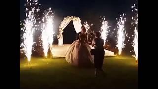 холодные фонтаны на свадьбу Shango Minsk  720