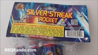 Silver Streak Rockets - King Bird Fireworks
