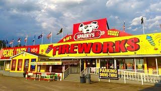 Sparky's Gift Shop/ Fireworks/ Service Station - HWY 501 Marion, SC