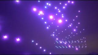Fireworks Upgraded - Advanced drone formation flying