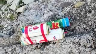 Неудачная бомба, или Не стоит бояться газовых баллонов